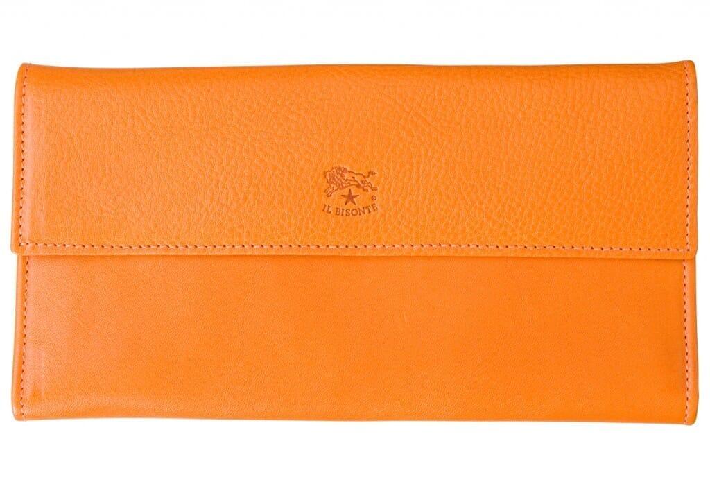 イルビゾンテ長財布 オレンジ