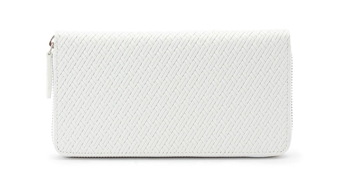 革財布 ホワイト