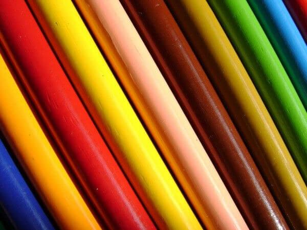 色とりどりのペンシル