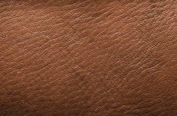 シボ感のある革素材の表面