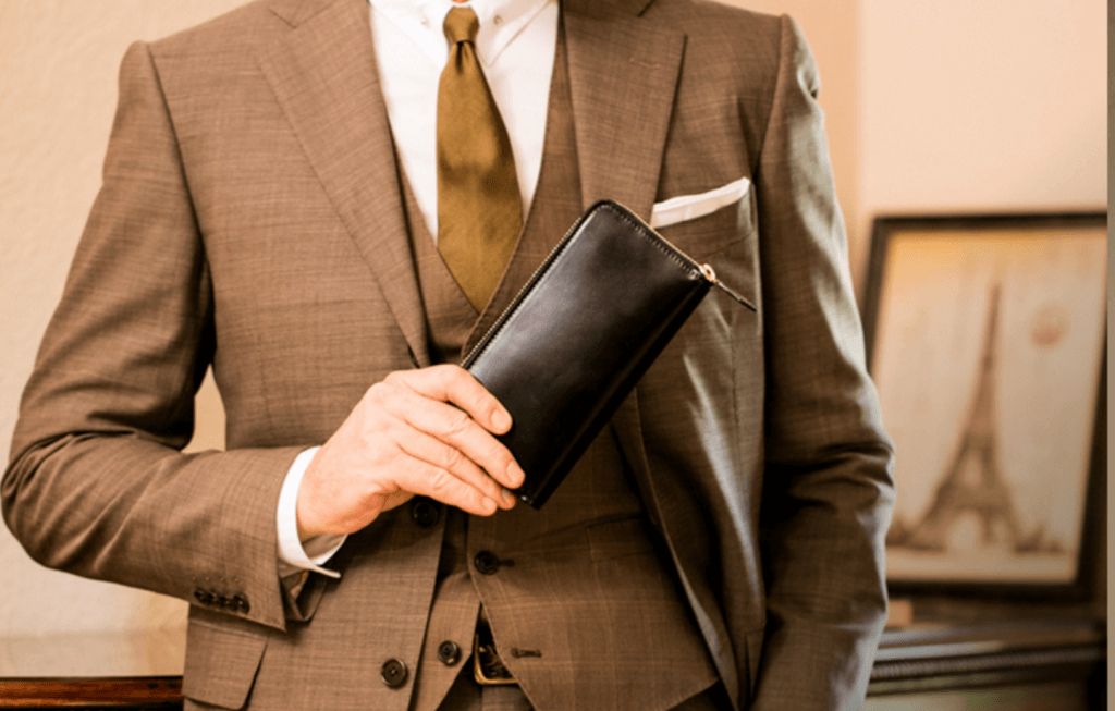 スーツに合うおすすめ財布ブランド