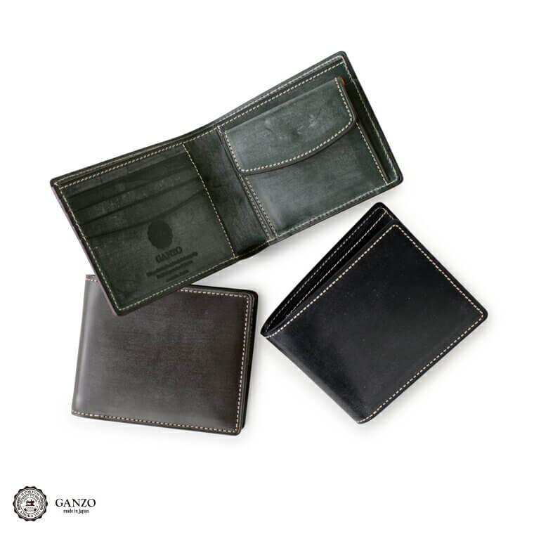 ガンゾ財布 BRIDLE CASUAL (ブライドルカジュアル)二つ折り財布