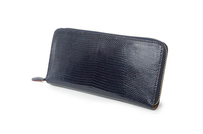 ガンゾ財布 LIZARD5 (リザード5)ラウンドファスナー長財布
