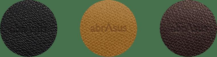 薄い財布 abrAsusの革素材について