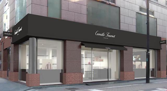 2016年8月31日オープン カミーユ・フォルネ直営ブティック銀座店