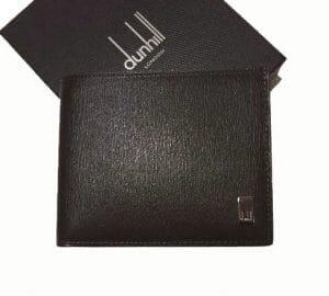 ダンヒル・サイドカーの二つ折りメンズ財布