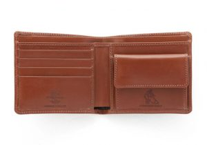 S7532 NOTECASE WITH COIN CASE(アンティークブライドル 二つ折り財布)