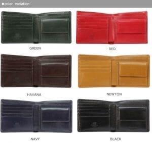 ホワイトハウスコックス(Whitehouse Cox)の財布のカラーパターン