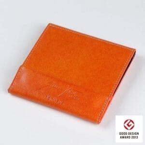 オロビアンコのデザイナーとアブラサスのコラボ 薄い財布