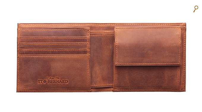 ココマイスター 二つ折り財布