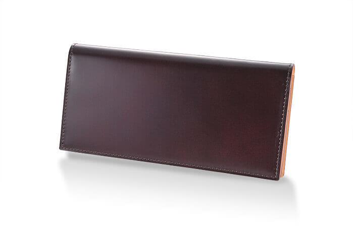 CORDOVAN (コードバン) 通しマチ長財布