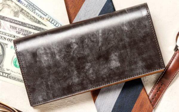 crafstoのおすすめ財布: BRIDLE LEATHER ブライドルレザー 長札入れ