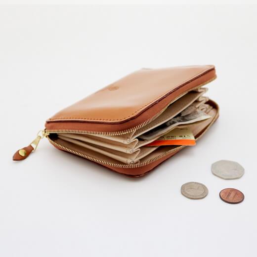 ジャバラ式財布