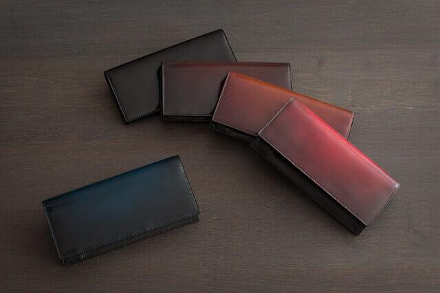 ユハクの革財布