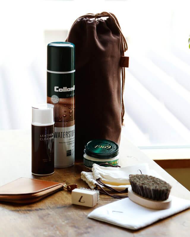 土屋鞄製造所の財布の手入れ方法や修理