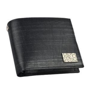 Calvin Klein platinum label プレッソ二つ折り財布
