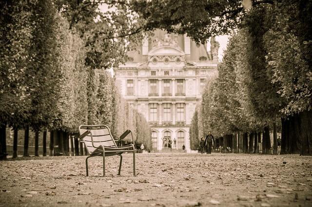 フランス・パリの公園