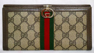 OLD Gucci 長財布(茶)