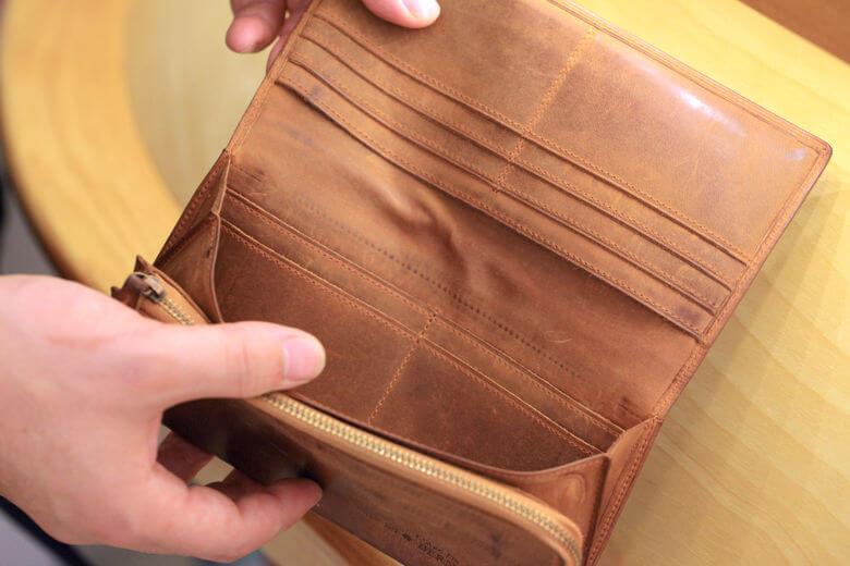 ココマイスター・ナポレオンカーフの長財布