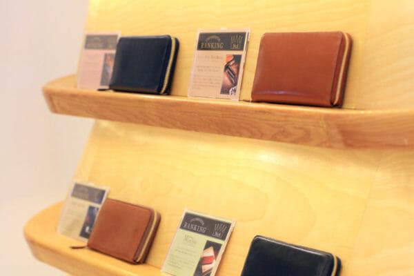 ココマイスター銀座一丁目店の売れ筋財布ランキング