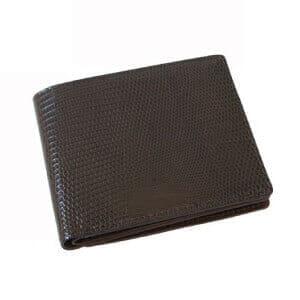 aniary リアルリザード 二つ折り財布