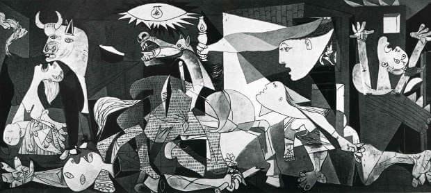 パブロ・ピカソ 作「ゲルニカ」