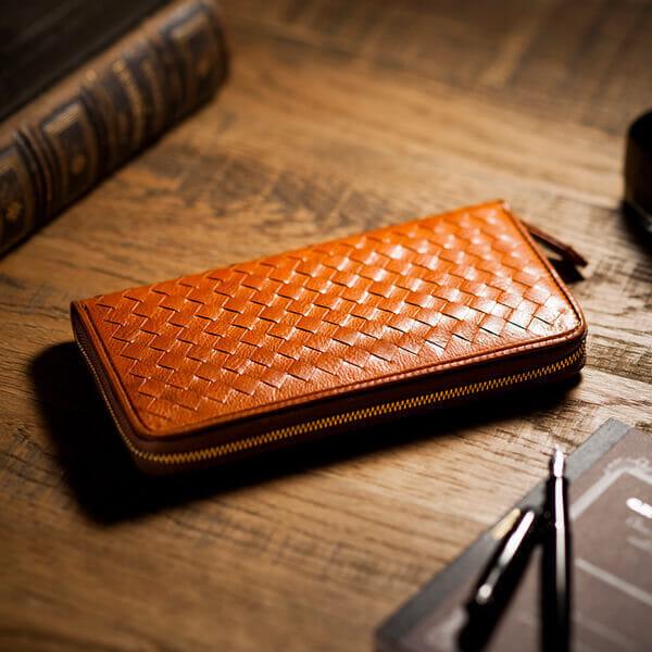 編み込み財布の魅力について