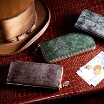 ココマイスター財布 ブライドルシリーズ