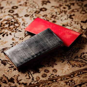 ココマイスター財布 ロンドンブライドルシリーズ