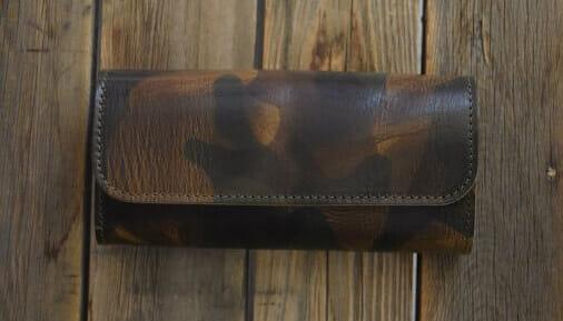 "迷彩:montana"" long wallet333S53E"