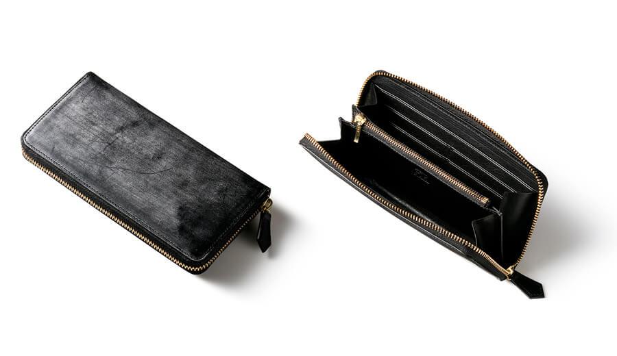 ココマイスターブライドルレザー財布