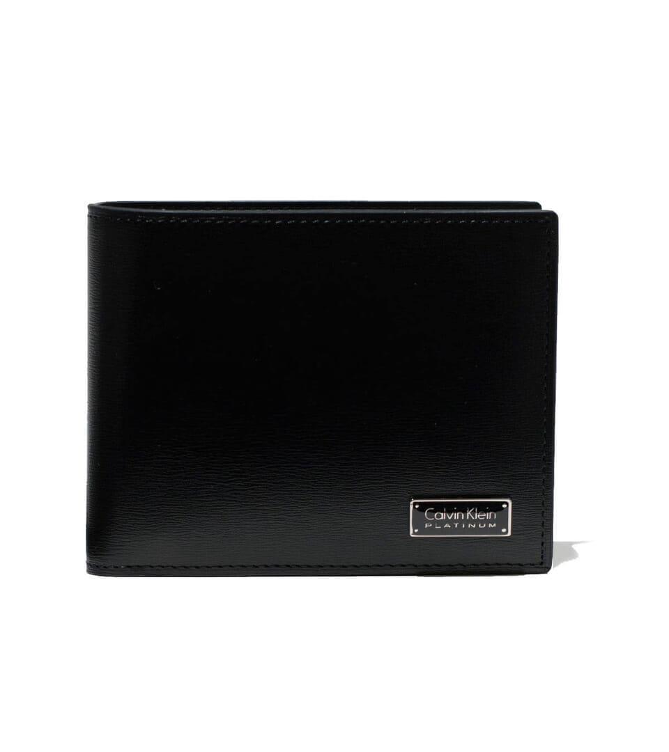 8ac4ac650d3e 二つ折り:「Calvin Klein PLATINUM 二つ折り財布 カード段12 レジン財布」