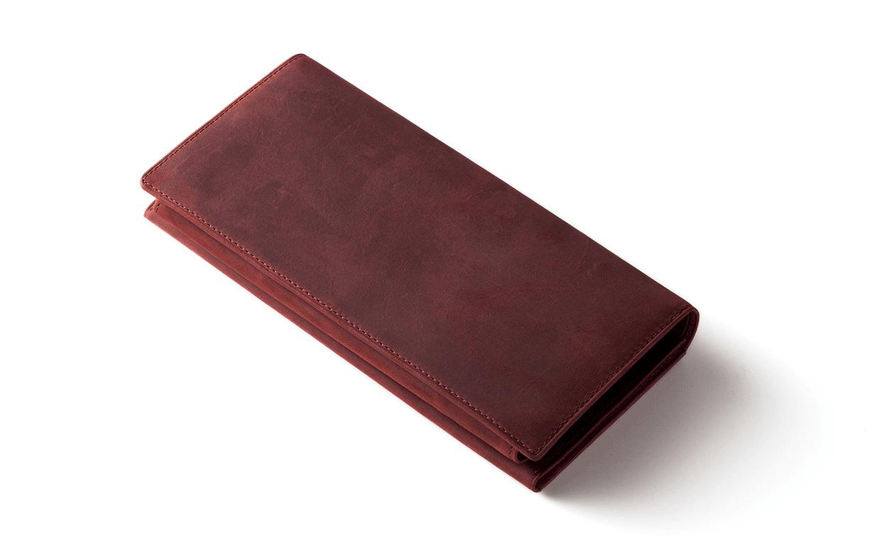 ココマイスターの財布 ナポレオンカーフアレッジドウォレット