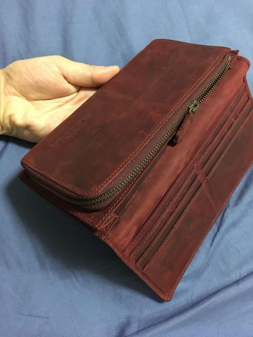 ココマイスターの財布「ナポレオンカーフ アレッジドウォレット」のレビュー