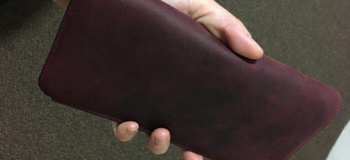 財布レビュー「ナポレオンカーフ アレッジドウォレット」を2年愛用しての本音口コミ