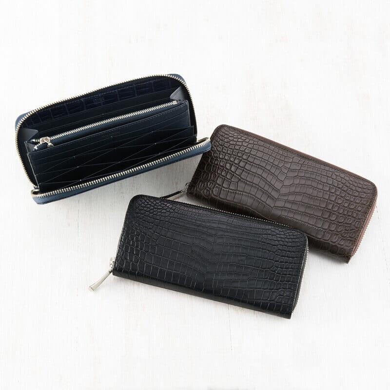 キプリスのおすすめラウンドファスナー長財布