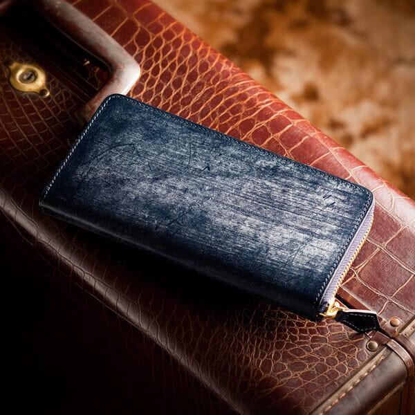 ココマイスターのおすすめラウンドファスナー長財布