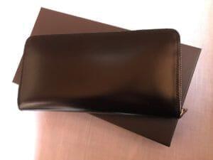 ジョージブライドルの財布を1年半愛用した本音レビュー!経年変化の写真あり