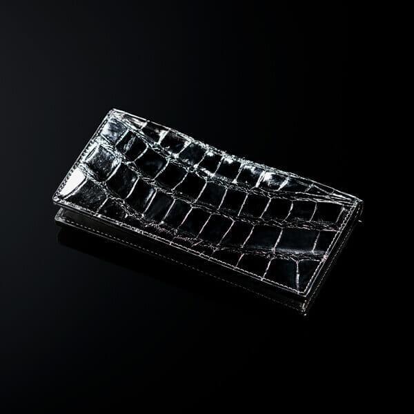 ココマイスター クロコダイル財布紹介クロコダイル・クルセイダー 長財布/360000円