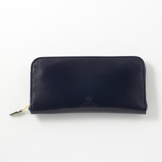 よりシンプルな長財布を好む場合は【ジップラウンドロングパース】