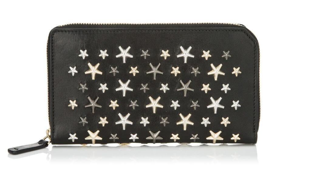 ジミーチュウのおすすめラウンドファスナー長財布