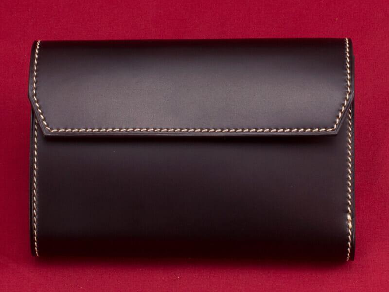 ⑭コードバン 三つ折り財布