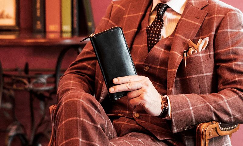 ホーウィン社のシェルコードバン財布が向いている男性とは?