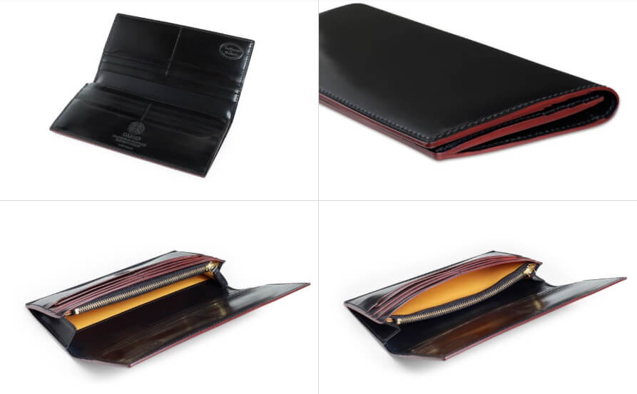 SHELL CORDOVAN 2 (シェルコードバン2)ファスナー付き長財布