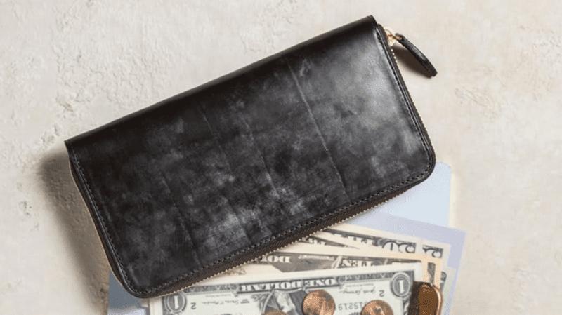 クラフストのブライドルレザー財布を見る