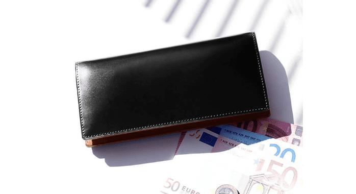 土屋鞄のコードバン財布