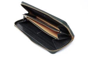 GANZOのブライドルレザー財布