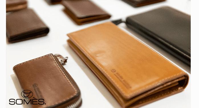 ソメスサドルのコードバン財布