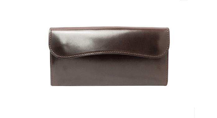 ワイルドスワンズのコードバン財布