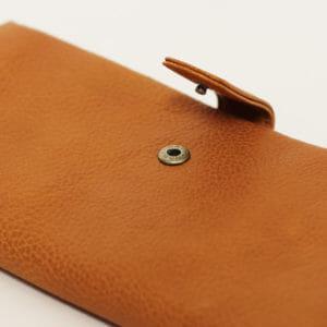 土屋鞄おすすめ財布:「ガマ口長財布」(ユニセックス)
